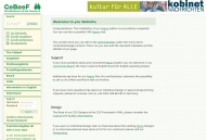 Bild Webseite Club Behinderter und ihrer Freunde in Frankfurt und Umgebung - CeBeeF Frankfurt
