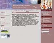 Website Verband der Südwestdeutschen Wohnungswirtschaft