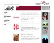 Bild Webseite EVANGELISCHE FRAUENHILFE IN DEUTSCHLAND Düsseldorf