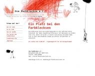Bild Webseite Die Farbkleckse Köln