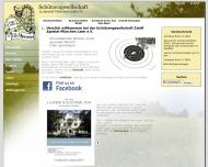 Bild Webseite Schützengesellschaft Zwölf Apostel München