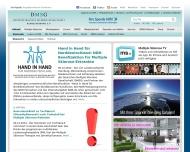 Bild Webseite Deutsche Multiple Sklerose Gesellschaft Landesverband Nordrhein-Westfalen Düsseldorf