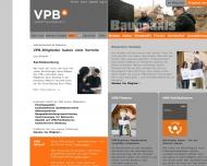 Bild Webseite Verband privater Bauherren Magdeburg