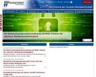 Bild Webseite Wirtschaftsrat der CDU Magdeburg