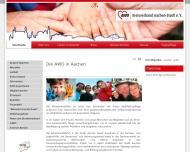 Bild Webseite Arbeiterwohlfahrt Kreisverband Aachen-Stadt Aachen