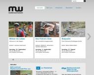 Bild Webseite Medienwerkstatt Franken Nürnberg