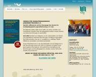 Website Verein für sozialpädagogische Jugendbetreuung