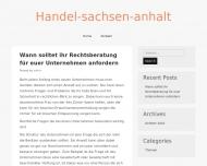 Bild Webseite Handelsverband Sachsen-Anhalt Der Einzelhandel Magdeburg