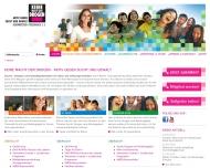 Bild Webseite Keine Macht den Drogen gemeinnütziger Förderverein München