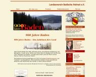 Bild Webseite Landesverein Badische Heimat Freiburg im Breisgau