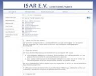Website Lohnsteuerhilfe Isar