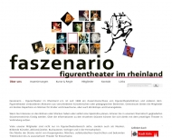 Website Faszenario - Kölner Figurentheater