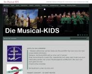 Bild Webseite Musical KIDS Frankfurt
