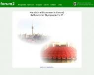 Bild Webseite Kulturverein Olympiadorf München