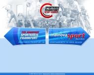 Bild Webseite SPORTKREIS Frankfurt des Landessportbunds Hessen eV Frankfurt