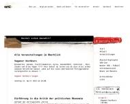 Bild Webseite Verein zur Förderung von Kunst und Kultur im Siegerland Siegen