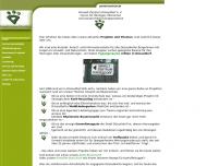 Website Umwelt- Zentrum Düsseldorf