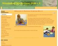 Bild Webseite Montessori-Kinderhaus Bilk Düsseldorf