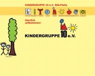 Bild Webseite Kindergruppe 10 Düsseldorf