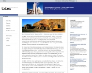 Bild Webseite Bundesverband Steine u. Erden Frankfurt