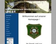 Bild Webseite Schützenverein Niedererbach Nentershausen
