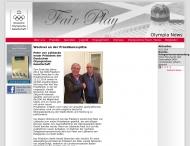 Bild Webseite Deutsche Olympische Gesellschaft Frankfurt