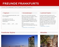 Bild Webseite Freunde Frankfurts Verein zur Pflege der Frankfurter Tradition Frankfurt