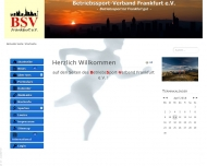 Bild Webseite Betriebssport - Verband Hessen Frankfurt