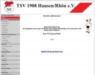 Website Turn- und Sportverein Hausen (Rhön)