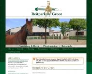 Bild Webseite Gesell-Reitpark Düsseldorf