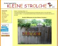 Bild Webseite Kleine Strolche Aachen