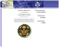 Bild Webseite Johannisloge zur Beständigkeit und Eintracht e. V. Aachen