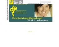 Bild Webseite Deutscher Evangelischer Frauenbund Landesverband Bayern München
