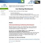 Bild Webseite Car-Sharing Südbaden-Freiburg Freiburg im Breisgau