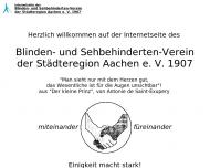 Bild Blindenverein Aachen Stadt u. Land e.V.