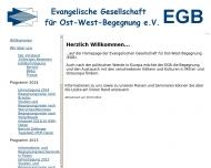 Bild Evangelische Gesellschaft für Ost-West-Begegnung e.V. (EGB)
