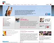 Bild Webseite Neukirchener Erziehungsverein Düsseldorf