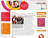 Bild Webseite Kath. Frauengemeinschaft Deutschlands Zentralverband Düsseldorf