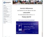 Bild Webseite Lebenshilfe für Behinderte Tangerhütte
