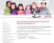 Bild Webseite Sozialdienst katholischer Frauen und Männer Düsseldorf
