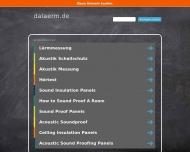 Bild Webseite Deutscher Arbeitsring für Lärmbekämpfung Düsseldorf