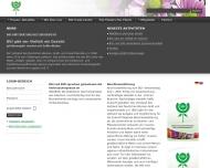 Website Verband der Deutschen Blumen-Groß u. Importhandels