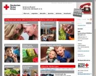 Bild Webseite Deutsches Rotes Kreuz Kreisverband Östliche Altmark Tangerhütte