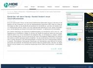 Bild Webseite Einzelhandels- und Dienstleistungsverband Aachen-Düren-Köln Köln
