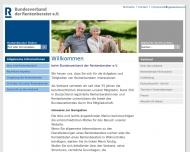 Bild Webseite Bundesverband der Rentenberater Köln