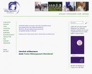 Bild Webseite Freies Bildungswerk Rheinland / Die Elternschule Köln Köln