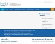 Bild Webseite Bundesverband der Deutschen Vending-Automatenwirtschaft Köln