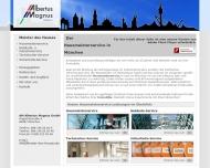 Bild Webseite AM Albertus Magnus München