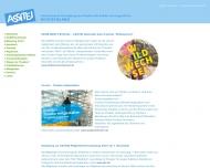 Bild Webseite ASSITEJ Frankfurt