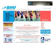 Bild Webseite Bayerischer Handballverband Nürnberg